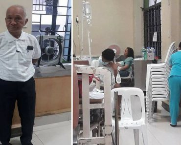 """Hospital Staff Forcibly Gets Old Man's Chair, Insists on """"One Patient, One Chair"""" Policy"""