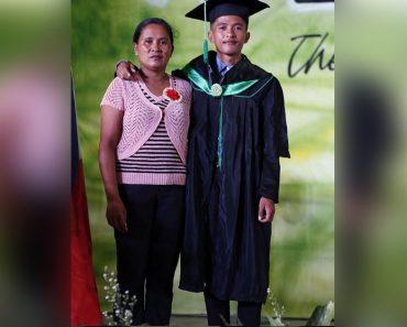 Son of Street Sweeper Graduates Cum Laude, Goes Viral
