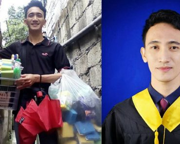 Student Sold Sponges for 13 Years, Finally Graduates from College