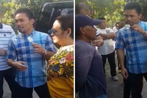 Pacquiao Promises House and Lot, Gives Php33k to Ice Cream Vendor Who Suffered Stroke