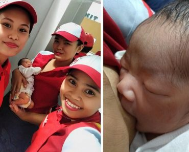 Kindhearted Jollibee Crew Earns Praise for Breastfeeding Abandoned Baby in the Store