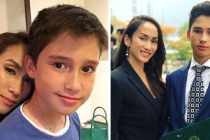 Ina Raymundo's Son Dazzles Netizens with His Good Looks