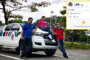 'Solid Kapuso' Grab Driver Cancels Booking of 'Kapamilya' News Anchor, Gets Suspended