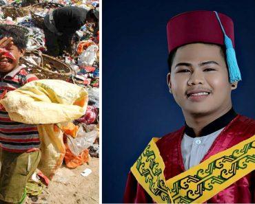 'Basurero' overcomes bullying, Graduates from college