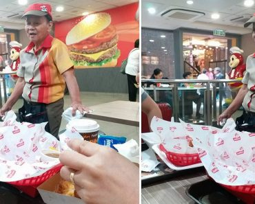 This Grandma Goes Viral for Working at Jollibee in Hong Kong Despite Age