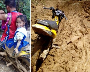Muddy but Smiling, This Girl Gets Government to Fix Their Road ASAP