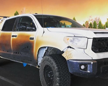 Toyota Offers Brand New Vehicle to Nurse Who Sacrificed Toyota Tundra to Save Lives in Wildfire