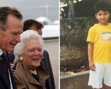 Pinoy Kid Secretly Sponsored by Former Pres. George Bush for 10 Years