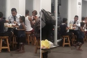 Security Guard Goes Viral for Treating Street Kids to McDonald's