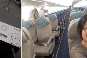 Woman Expresses Surprise for Being the Only Passenger in PAL Flight to Manila