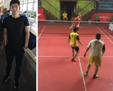 Badminton Star Breaks Stereotypes about Fat Guys and Sports