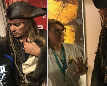 Axed from Future 'Pirates' Movies, Johnny Depp Still Visits Hospital as Jack Sparrow