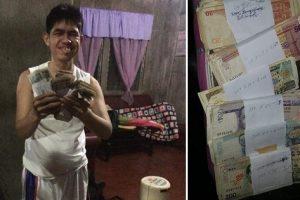 Netizens Help Buy PWD Man's Savings in Demonetized Bills