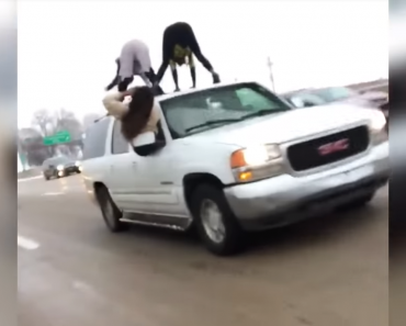 Video Shows Two Women Twerking on Moving SUV During Rush Hour Traffic