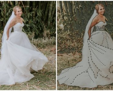 Photographer Finds a Way to Make Special Wedding Album for a Blind Bride