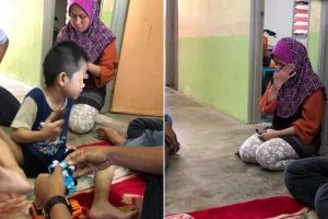 Two Kids Caught Taking Trash to Eat Because Mom Has No Money for Food