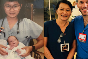 Nurse Discovers Co-Worker was Premature Baby She Saved 28 Years Ago