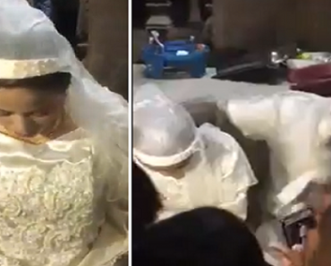 Pitiful Video of Girl Crying in Arranged Marriage Ceremony Goes Viral