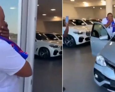 Tired of Picking Their Friend Up, These Guys Buy Him a New Car