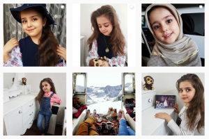7-Year-Old Iranian Takes Internet Crown as Most Beautiful Girl in the World