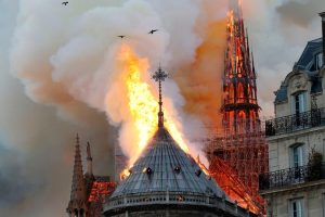 Even as Notre Dame Cathedral Continues to Burn, Millions in Donations Pour in for Repair