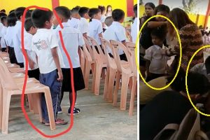 Teachers Buy Uniforms, Shoes for Brothers Who Didn't Have Any for Moving Up