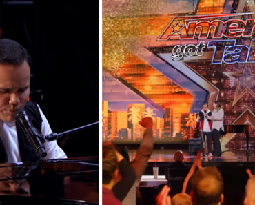 Blind Man with Autism Gets AGT Golden Buzzer, Makes Everyone Cry with Incredible Talent