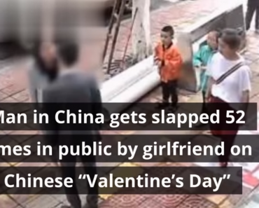 Girl Hits Boyfriend 52 Times for Not Buying Her a Smartphone on Chinese Valentine's Day