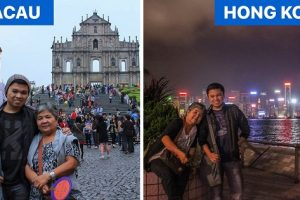 Pinoy Traveler Takes His Mom to Vacations Around the World, Promises to Do It Yearly
