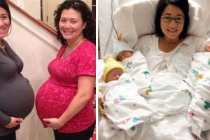 Two Sisters Carry Twins for the Same Guy, Give Birth on the Same Day