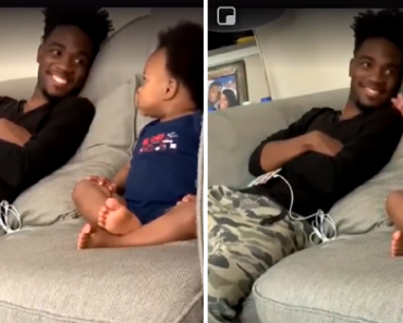 Baby's Adorable Full-Fledged 'Grown-Up' Conversation with Dad Goes Viral