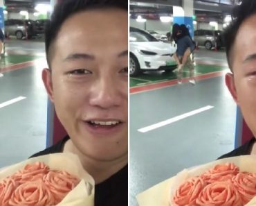 Guy Tries to Surprise GF on Birthday, Catches Her Cheating Instead