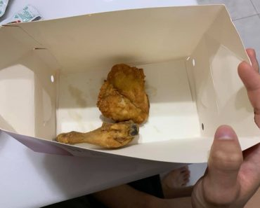 Netizen Complains About Very Small Pieces of Fried Chicken from Popular Fastfood
