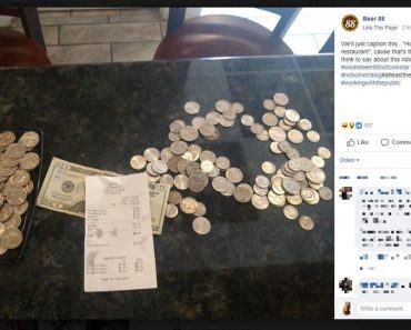 Restaurant Ridicules Teen for Paying Meal (with $10 Tip!) Using Coins
