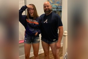 Dad Wears Short Shorts to Teach Daughter a Lesson, Ends Up Going Viral