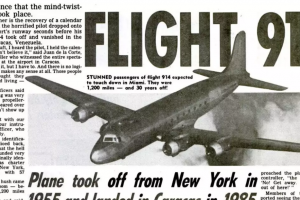 Mystery of Plane that Landed 37 Years after Take Off Goes Viral
