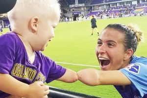 Sweet Photo of 'Fist-Bump' Moment between One-Armed Soccer Star and Toddler Goes Viral