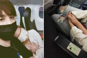 Guy Holds Hands with Frightened Seatmate in Turbulent Flight, Falls in Love