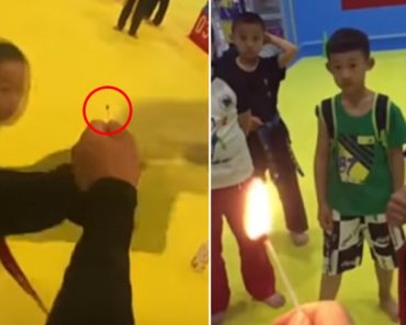 Better Than #BottleCapChallenge, These Taekwondo Students Light Matches When They Kick