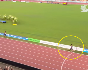 Runner Makes Big Mistake and Celebrates Too Early, Loses the Race at Tenth Place