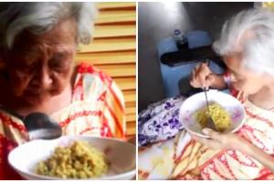 Woman Hears Elderly Neighbors Screaming in Hunger, Starts Bringing Them Food Everyday