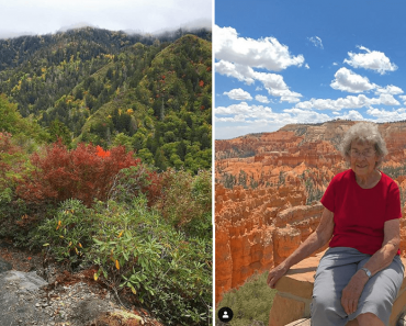 89-Year-Old Woman Regrets Only Taking Few Trips, Now Plans to Visit All National Parks