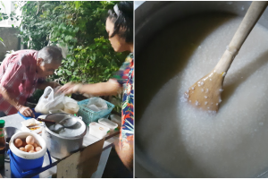 78-Year-Old Man Sells Porridge to Support Self, But Often Sells Only One Serve