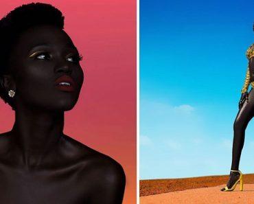 Dark-skinned Woman Breaks Beauty Standards, Becomes a Professional Model