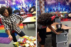 Teacher Praised for Decorating Room in Disney Style Using Her Own Money
