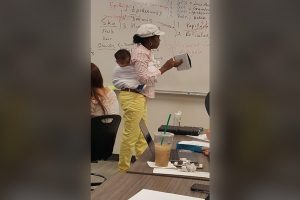 College Professor Goes Viral for Carrying Student's Baby in 3-Hour Class