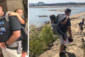 Teacher Goes Viral for Carrying Student on His Back So She Wouldn't Miss Field Trip
