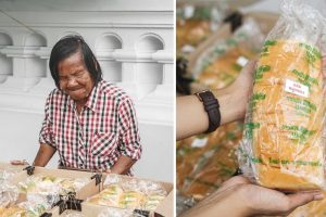 Blind Woman Sells Bread to Survive, But People Keep Taking Her Goods