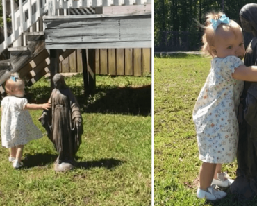 Adorable Toddler Goes Viral for Showing Love for Mama Mary