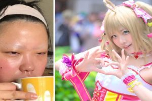 Netizens Express Amazement Over a Cosplayer's Unbelievable Makeup Transformation